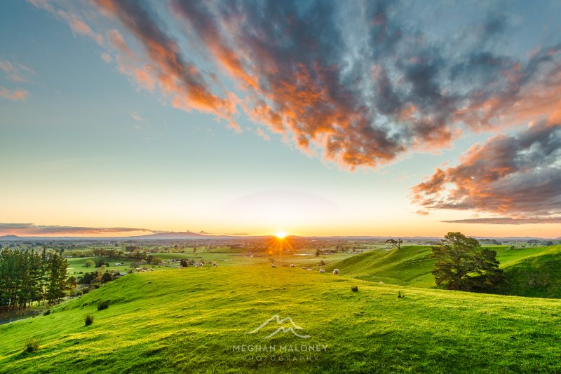 Best sunset views in the Waikato